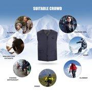 OTVIAP 6 Sizes Unisex USB Electric Heating Vest Temperature Adjustment Winter Warm Up Jacket, Electric Vest, Heated Jacket
