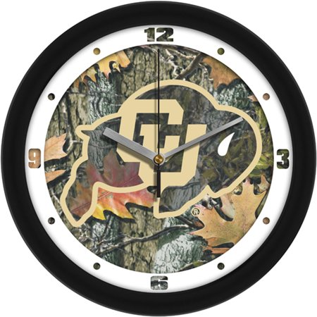Colorado Golden Buffaloes NCAA Wall Clock