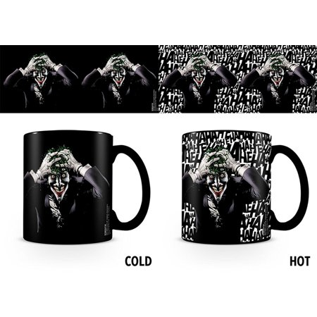 Batman / DC Comcis - Thermal Ceramic Heat Change Coffee Mug / Cup (Killing Joke / The Joker)