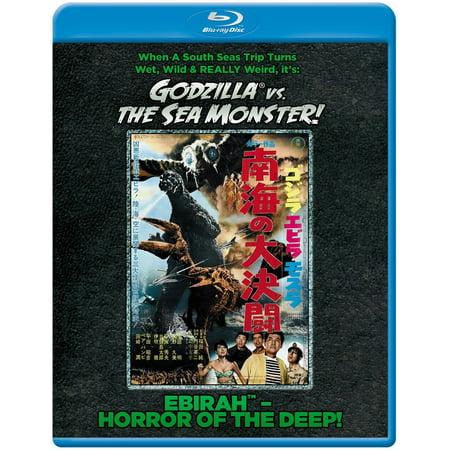 Godzilla Vs. The Sea Monster (Ebirah Horror of the Deep) (Japanese) (Blu-ray)](Film Halloween Non Horror)