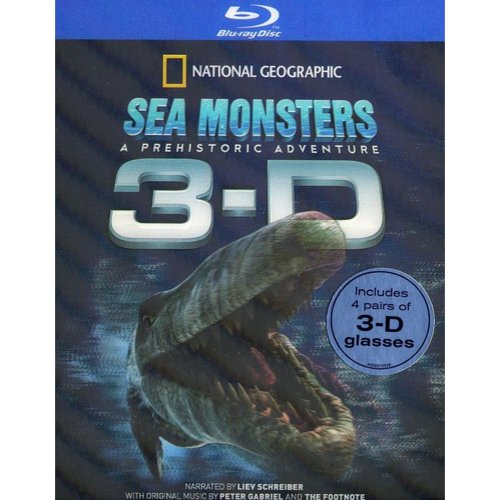 Sea Monsters 3-D (Blu-ray) (Widescreen)