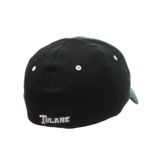 e613be317 Tulane Green Wave Official NCAA ZHS Large Hat Cap by Zephyr 412206