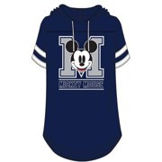 Disney Junior Fashion Hooded Football Tee Mickey Mouse Club Navy Large