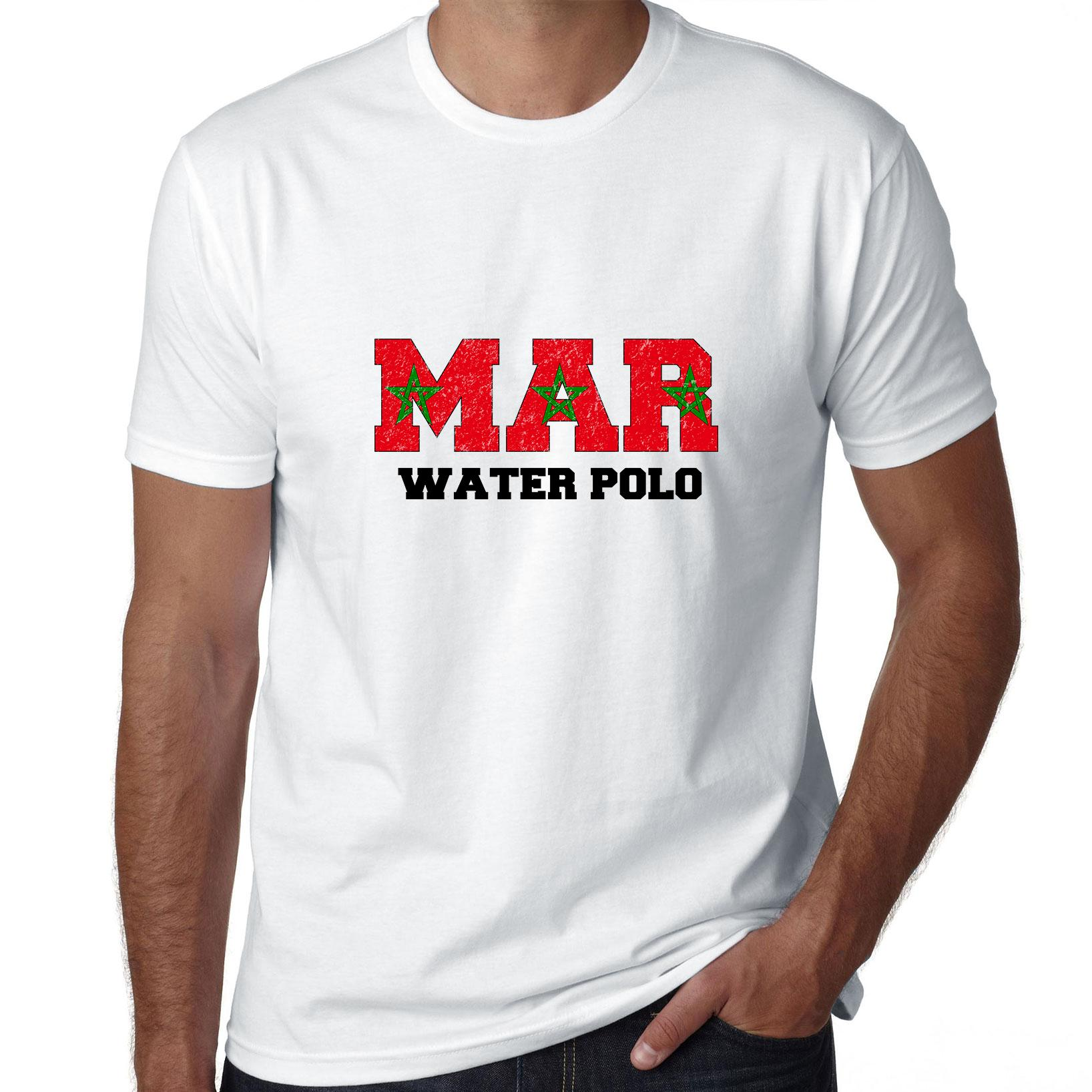 Morocco Waterpolo - Olympic Games - Rio - Flag Men's T-Shirt