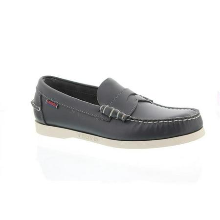 Sebago Men's Docksides Dolphin Navy Loafer (Navy Footwear)