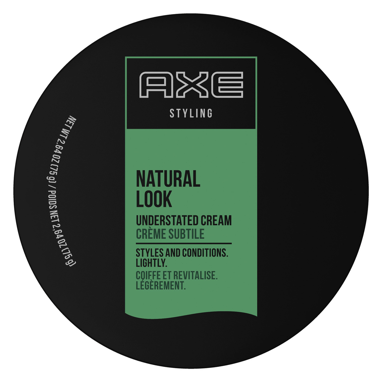 Axe Natural Look Hair Cream Understated 2 64 Oz Walmart Com Walmart Com