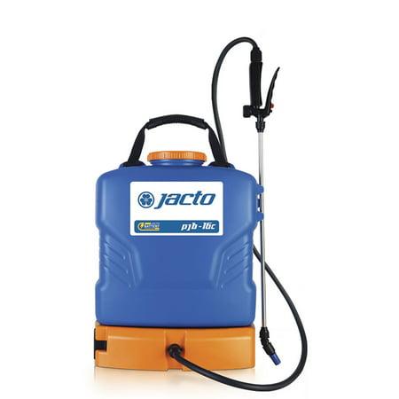 Jacto PJB-16C Lightweight Battery Powered 4 Gallon Chemical Backpack Sprayer Gallon Power Sprayer