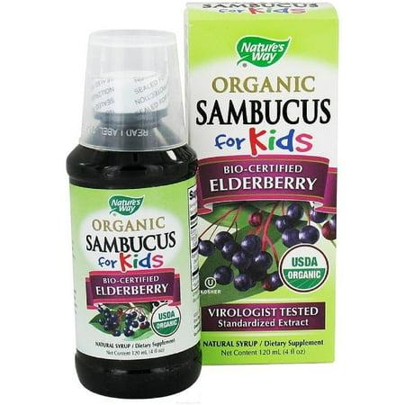 Natures Way Sambucus Organic For Kids