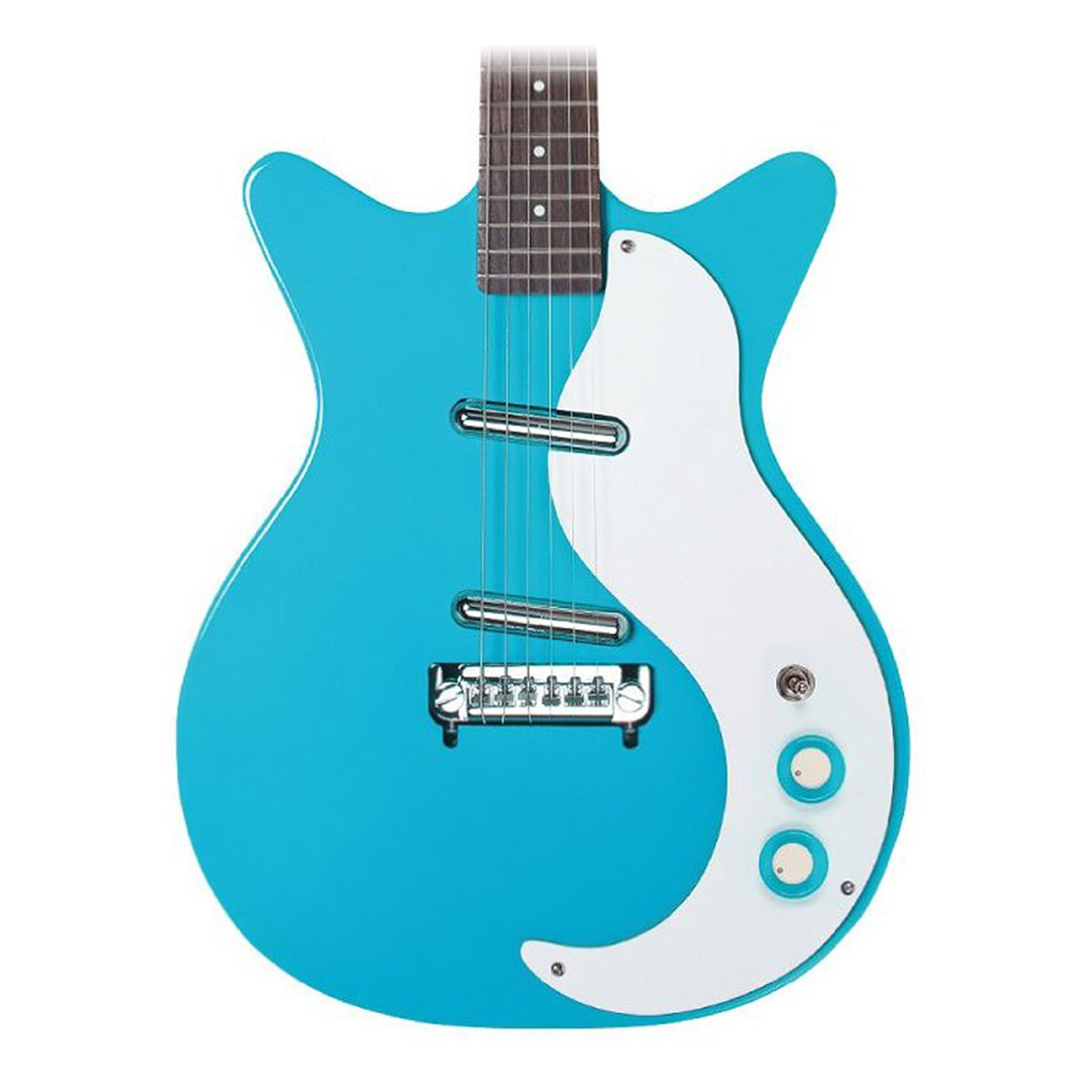 Danelectro '59M NOS Baby Come Back Blue by Danelectro