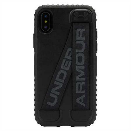 size 40 bfb09 b45ab Under Armour iPhone X Case UA Handle-It - Black/Black
