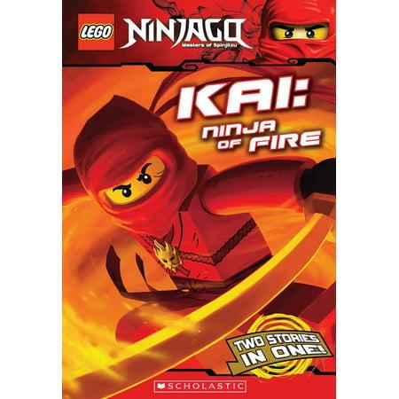 Lego Ninja Kai (Lego Ninjago Chapter Book: Kai, Ninja of Fire (Lego Ninjago: Chapter Book))
