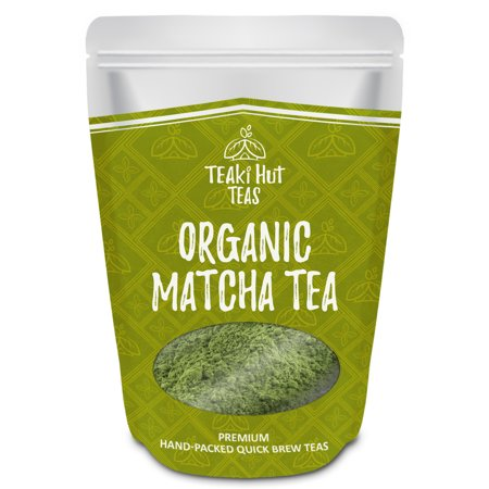 Teaki Hut Organic Matcha Green Tea Powder Culinary Grade 2 Oz 50 Servings Excellent Weight Loss Benefits More Antioxidants Than Bags