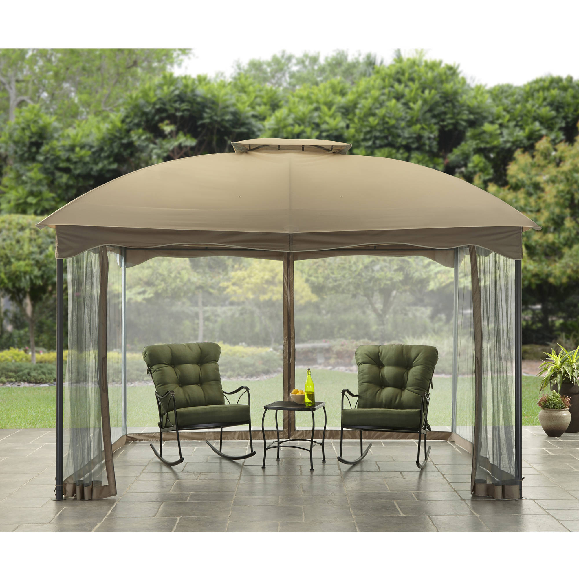 Better Homes and Garden Hollow 10' x 12' Cabin Style Gazebo