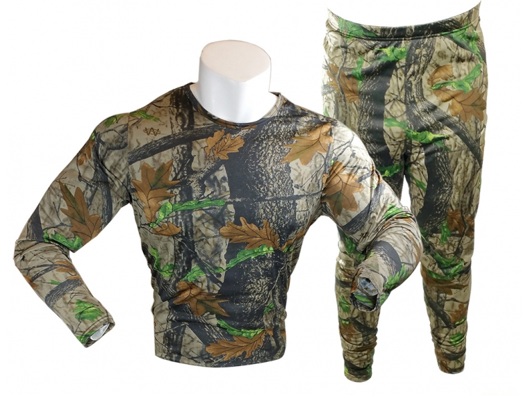 Gold Medal Base Layer Thermal 2 pc. Set Timber Camo(X-Large) GMB-1040S-MC-XL by GOLD MEDAL INT.
