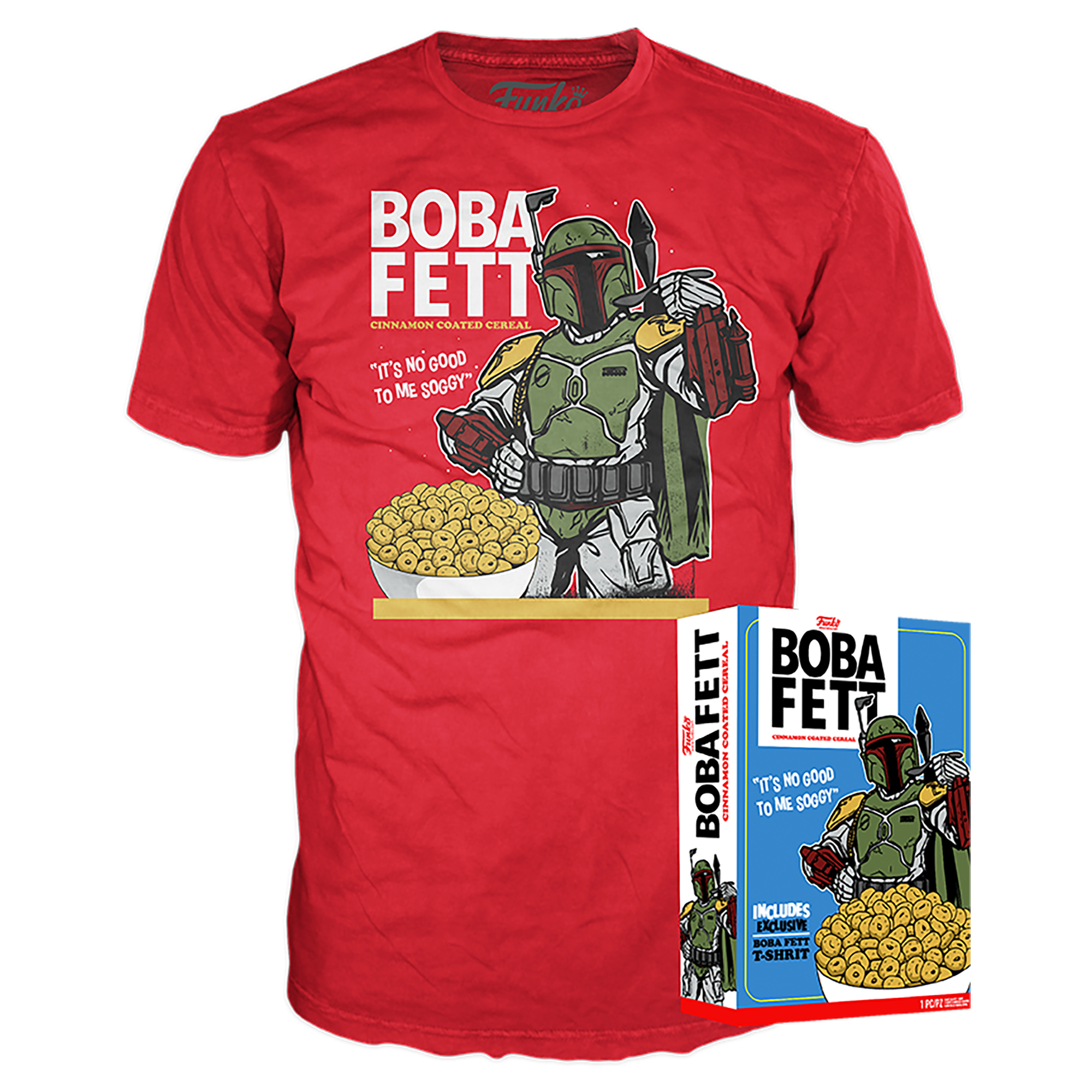 Funko Boxed Tee: Star Wars - Boba Fett - Walmart Exclusive