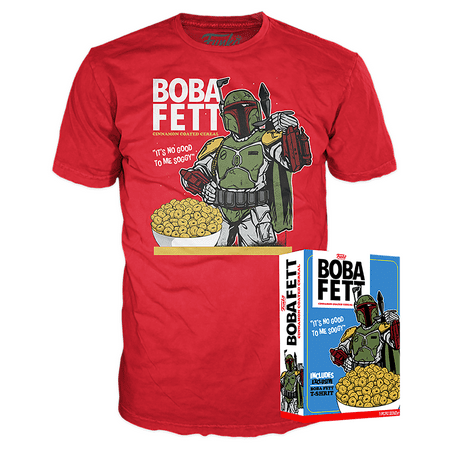 Funko Boxed Tee: Star Wars - Boba Fett - Walmart Exclusive