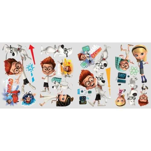 Mr. Peabody and Sherman Peel and Stick Wall Decals