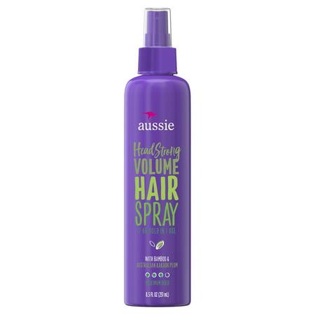 Aussie Headstrong Volume Non-Aerosol Hairspray, 8.5 Fl Oz