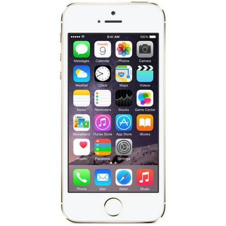 refurbished apple iphone 5s 16gb smartphone unlocked. Black Bedroom Furniture Sets. Home Design Ideas