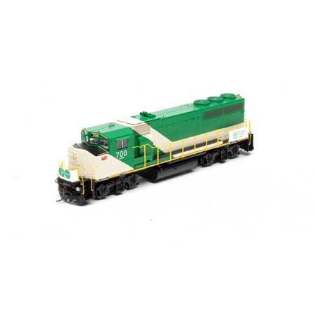 Athearn G40982 HO GO Transit GP40-2W with DCC & Sound #700