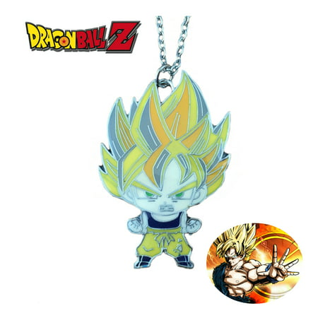 Dragonball Z Necklace Pendant -Goku - Anime Manga Game TV Series Cosplay by Superheroes - Best Goku Cosplay