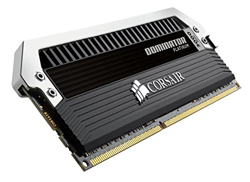 Corsair DOMINATOR Platinum Series 16GB (4 x 4GB) DRAM DDR3 3000MHz (PC3 24000) C12 memory kit for DDR3 Systems (CMD16GX3