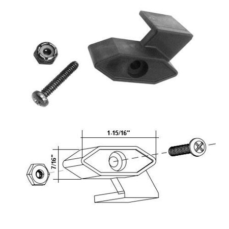 Neo Angle Shower Unit - Shower Door Travel Latch Assembly for Neo Angle Shower Door Units