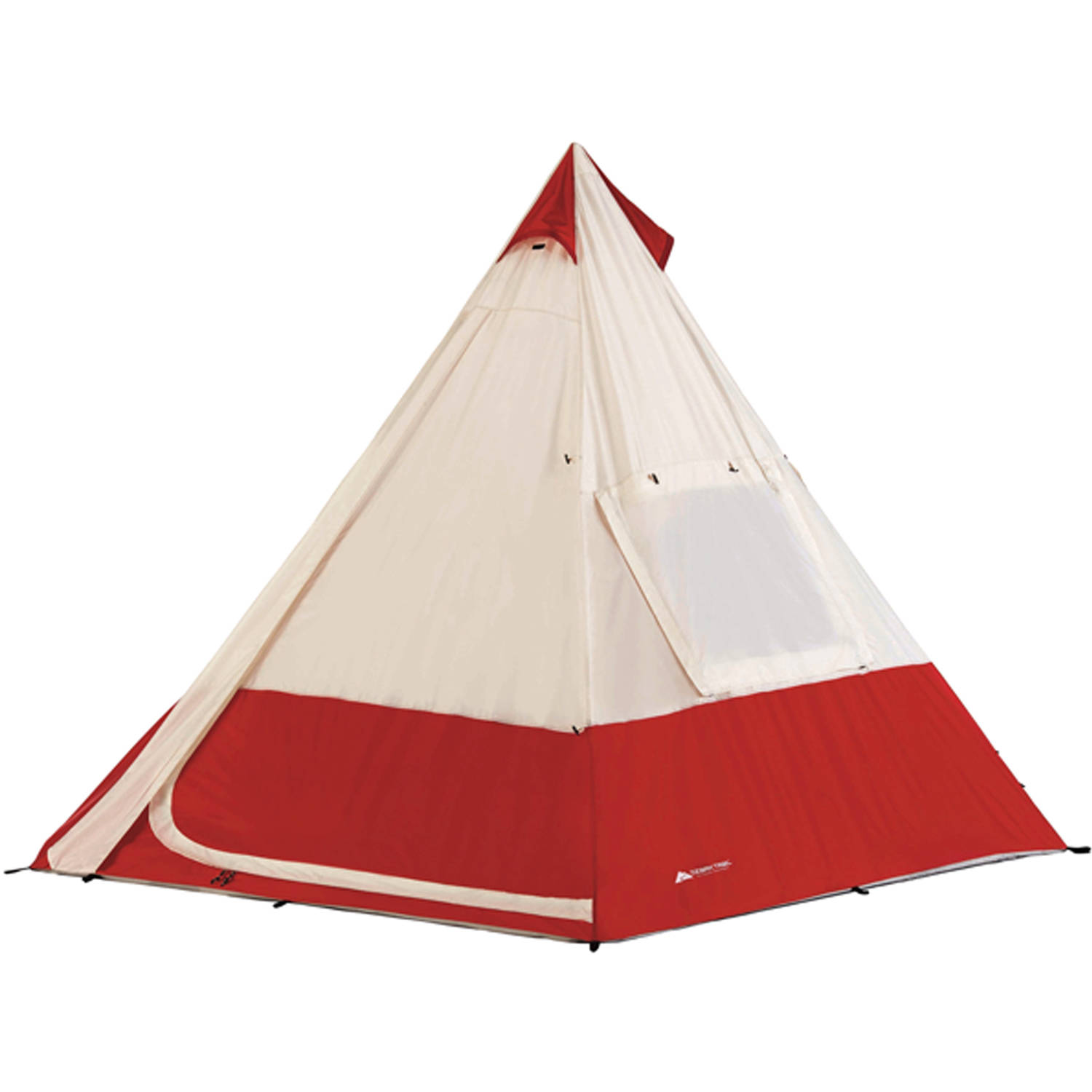 Ozark Trail 7 Person Teepee Tent Image 2 of 3  sc 1 st  Walmart : pop up teepee tent - memphite.com