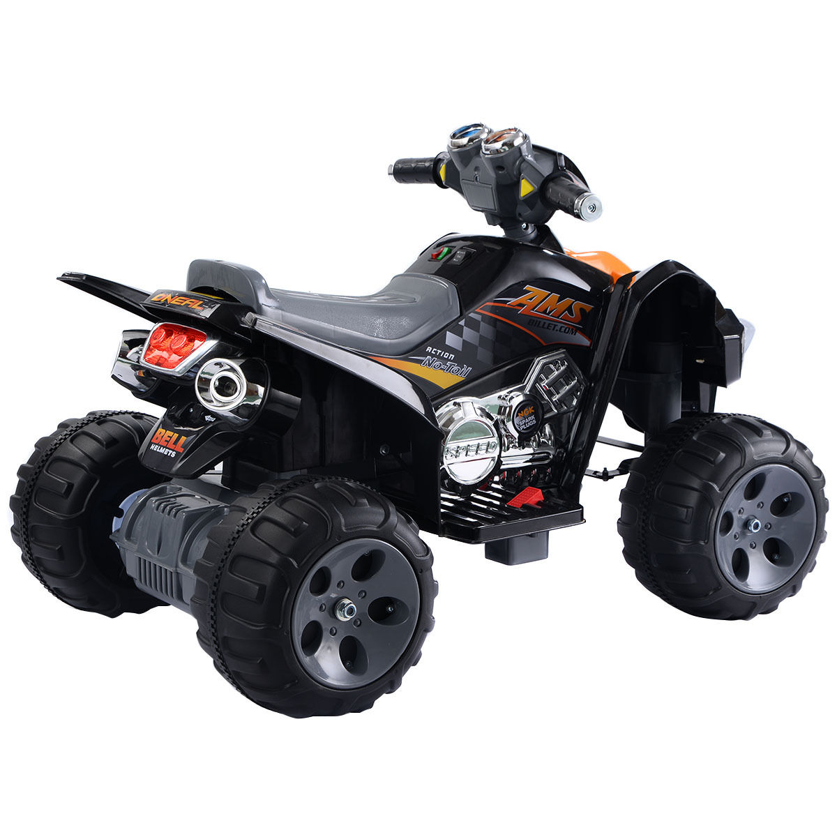 Quad 4 Engine Diagram 2 Wiring Library Costway Kids Ride On Atv Wheeler Electric Toy Car 12v Battery Power Led Lights