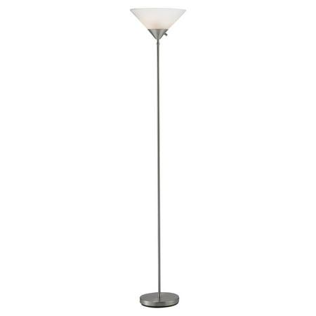 Adesso pisces torchiere floor lamp walmartcom for Adesso remote control torchiere floor lamp