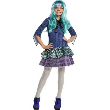 Morris Costumes Girls Monster High Twyla Colorful Costume Medium, Style RU886704MD](Twyla Monster)