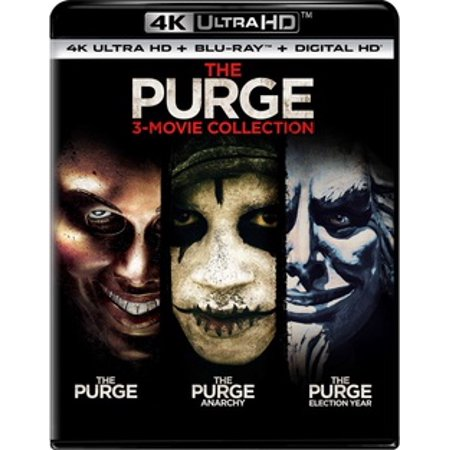 The Purge Movie Masks For Sale (The Purge: 3-Movie Collection (4K Ultra)