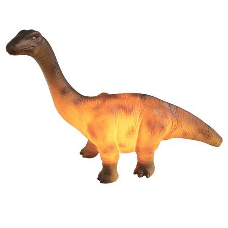 Dinosaur Resin Table Lamp - Brontosaurus Accent Light - 4
