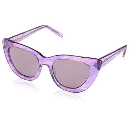 SOCIETY NEW YORK Women's Cat-Eye Sunglasses, Purple, (Society Sunglasses)