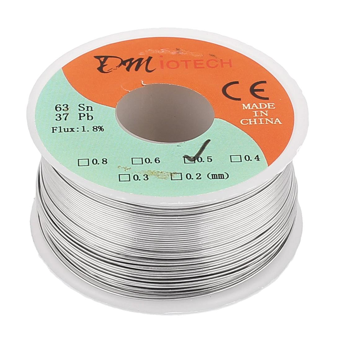 DMiotech 0.5mm 150G 63/37 Rosin Core Flux 1.8% Tin  Roll Solder Wire
