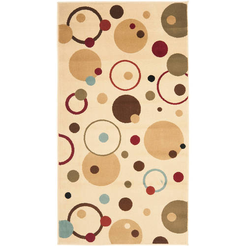 Safavieh Porcello Alexander Abstract Circles Area Rug or Runner