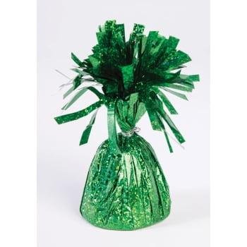 Foil Balloon Weight, Green, - Lighted Balloons