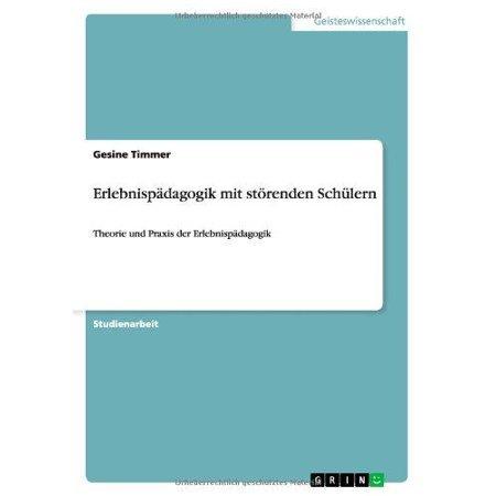 Erlebnisp Dagogik Mit St Renden Sch Lern - image 1 of 1