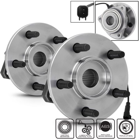 - Fit Set of 2 513176 Front Wheel Hub ABS Bearings For 2002-2007 Jeep Liberty