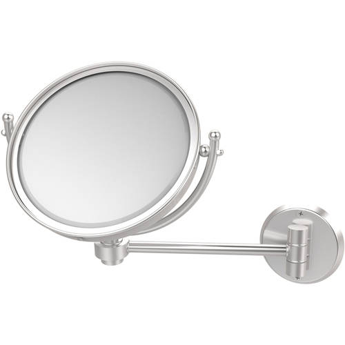 """8"""" Wall-Mounted Make-Up Mirror, 2x Magnification"""