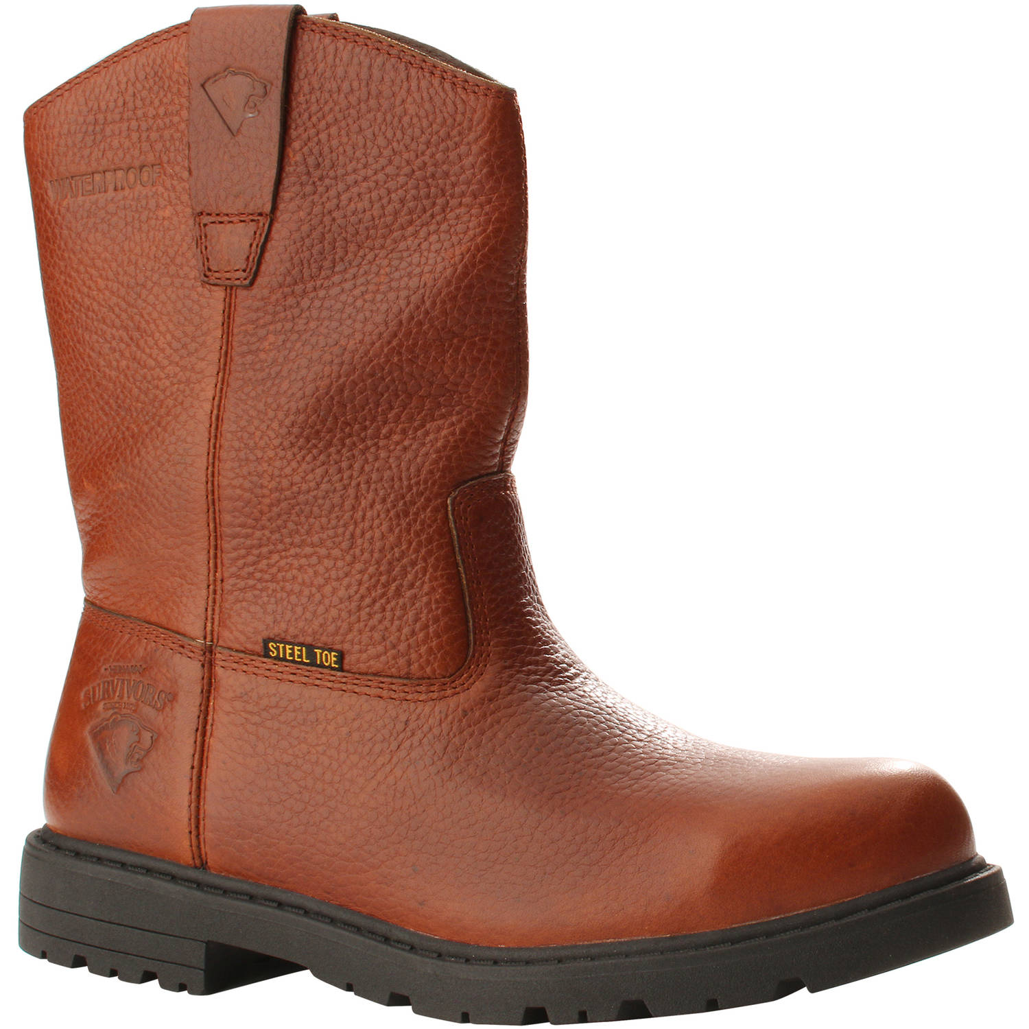 Herman Survivors Men's Ranch Steel Toe Waterproof Workboot