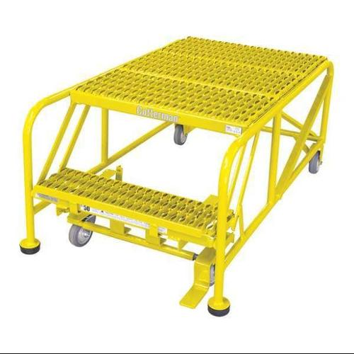 COTTERMAN 2WP3624A3B8AC2P6 Work Platform,2 Step,Steel,20In. H. G0996059