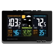 La Crosse Technology 308-1414B Wireless Atomic Digital Color Weather Station with Alerts
