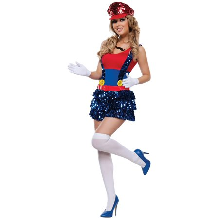 Adult Block Bustin Maria Sexy Costume for $<!---->