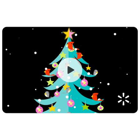 Christmas Birds Walmart eGift Card ()
