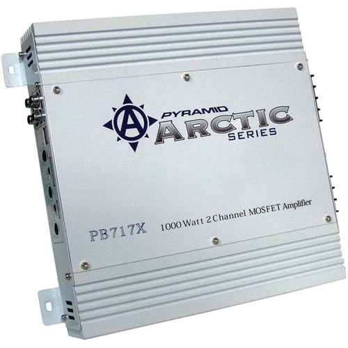 Pyramid PB717X Arctic Series 2-Channel MOSFET Amplifier