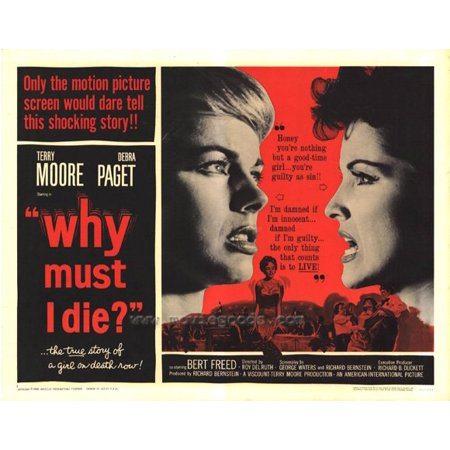 Why Costumes On Halloween (Why Must I Die POSTER (22x28) (1960) (Half Sheet Style)