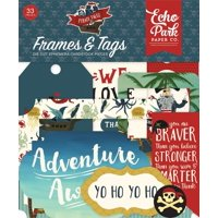 Pirate Tales Frames & Tags - Echo Park