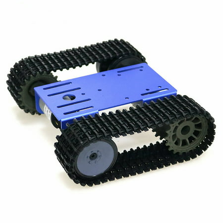 Tracked Robot Smart Car Platform Robotics Kits Robot Tank Crawler Chassis DIY Kit Solid Robotic Platform Tank Mobile Platform Robotic Toy Platform for
