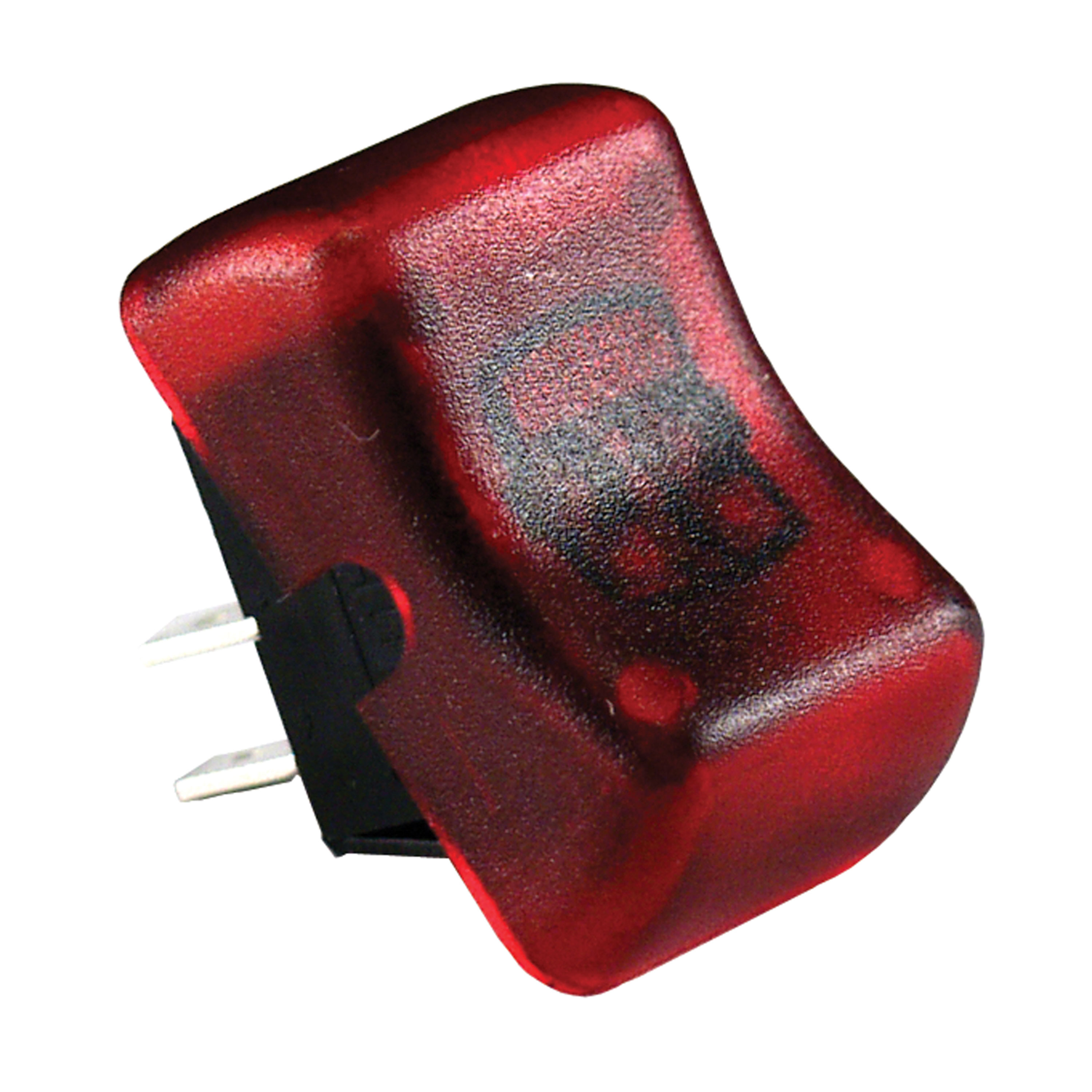 JR Products 12045 Illuminated On/Off Switch - Red